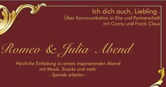 Einladung Romeo & Julia