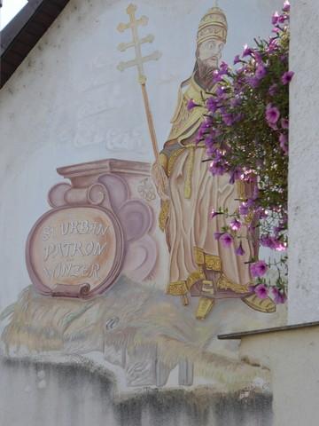 St.Urban auf Hauswand Wasenweiler
